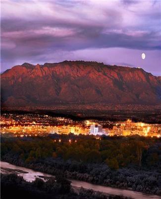 Sandia Mountains Albuquerque NM | Albuquerque, New Mexico and the beautiful Sandia Mountains