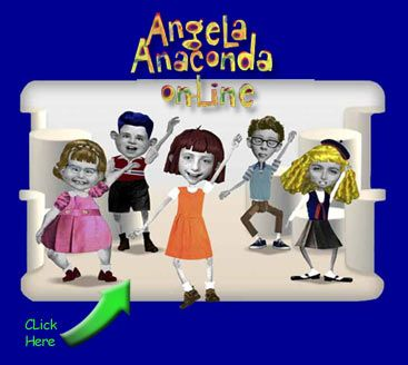 Angela Anaconda 90s. Hi hey hello welcome to my very own show....oh no nippy pooh!
