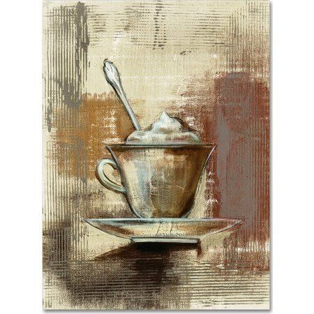 Trademark Fine Art Cafe Classico III Neutral Canvas Art by Silvia Vassileva, Multicolor