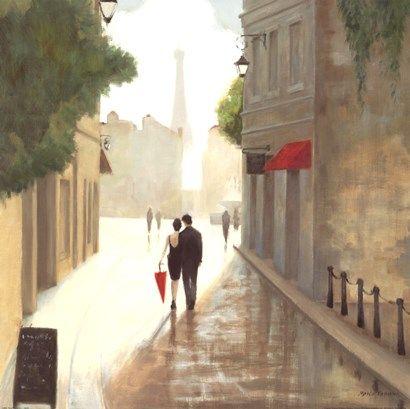 Paris+Romance+I+at+FramedArt.com