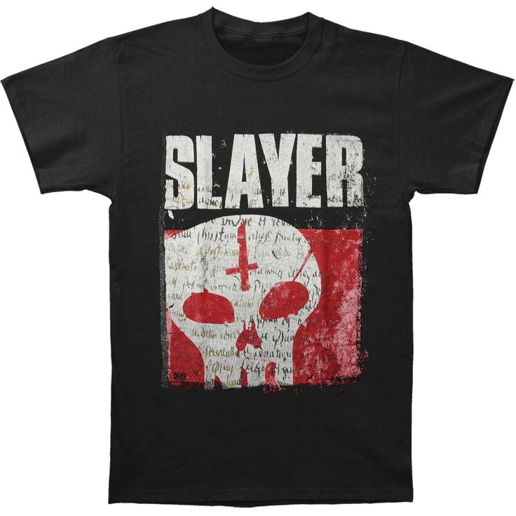 Slayer Men's Undisputed Skull T-shirt Medium Black -- Awesome products selected by Anna Churchill