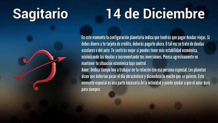 Horóscopo de Hoy: Sagitario 14 de Diciembre, 2014
