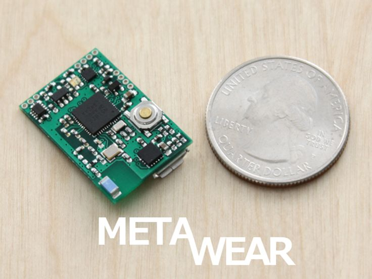 A tiny ARM+Bluetooth LE Platform for developing Wearable Sensor products that are certified and ready for quick prototyping