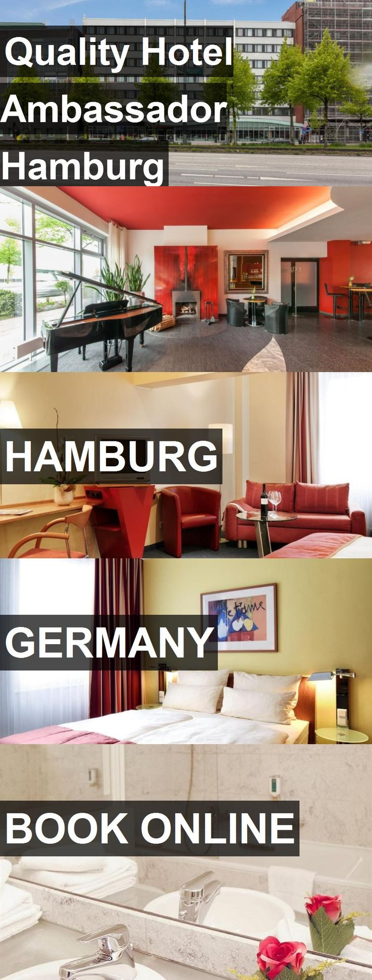 Hotel Quality Hotel Ambassador Hamburg in Hamburg, Germany. For more information, photos, reviews and best prices please follow the link. #Germany #Hamburg #QualityHotelAmbassadorHamburg #hotel #travel #vacation