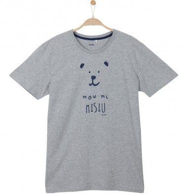 T-shirt męski Q52G002_1