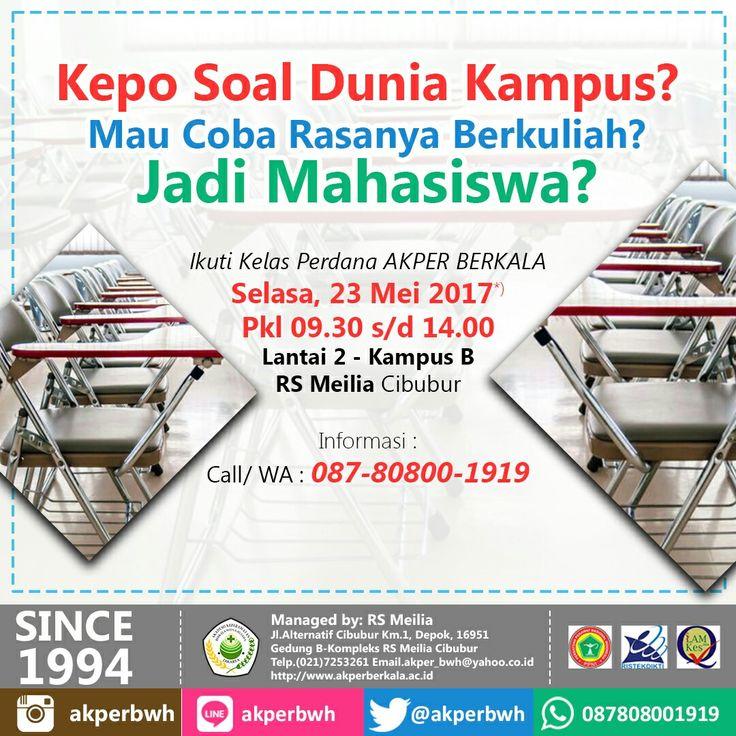 Besok datang ya.... pre-class #kelas perdana di AKPER BERKALA • • #akper #akademi #keperawatan #akperberkala #cibubur #depok #cileungsi #bekasi #bogor #tangerang #jakarta #indonesia #mahasiswa #kampus #kuliah #perawat #nakes #nurse #profesi