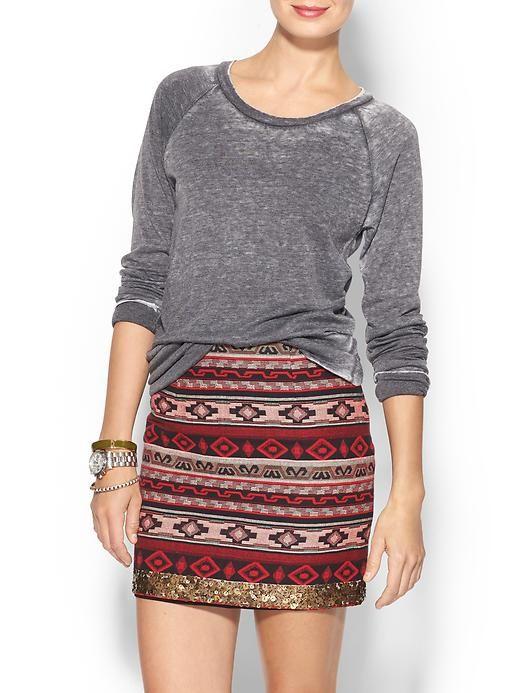 Raglan knit - perfect fall top #knittop