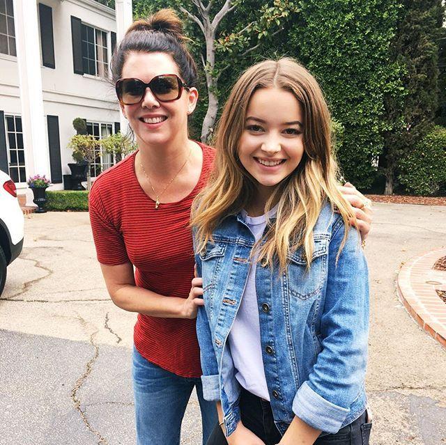 I just met Lorelai Gilmore  #gilmoregirls