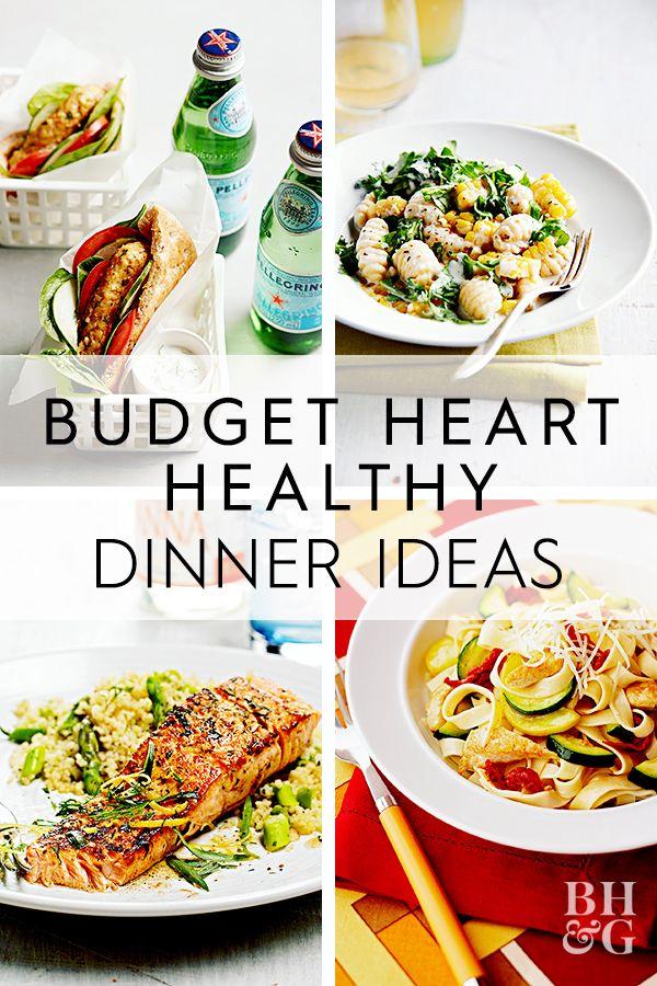 Health dinner meals