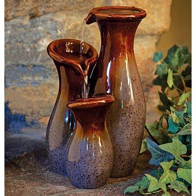 Three Level Ceramic Fountain
