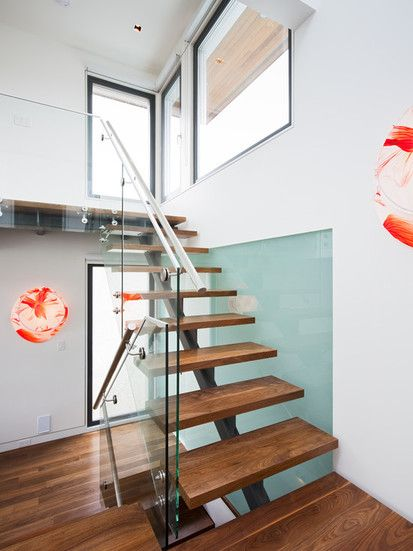 Floating Stairs, Modern Staircase, Vancouver