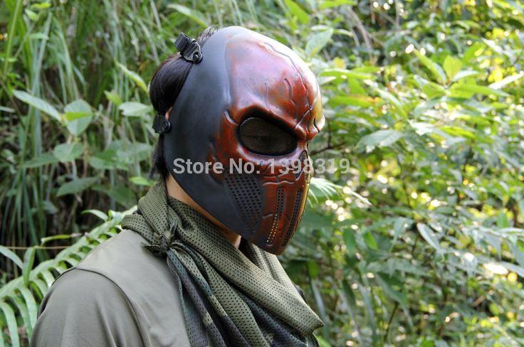 Бесплатная Каратель уха-защитный шлем-страйкбол Пейнтбол маска для Хэллоуина в CS военной игры поля игры косплей реквизит
