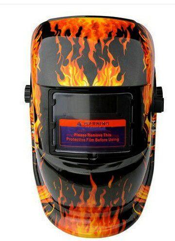 LMM Skull Solar auto darkening TIG MIG MMA electric welding mask/helmet/welder cap/welding lens for welding machine