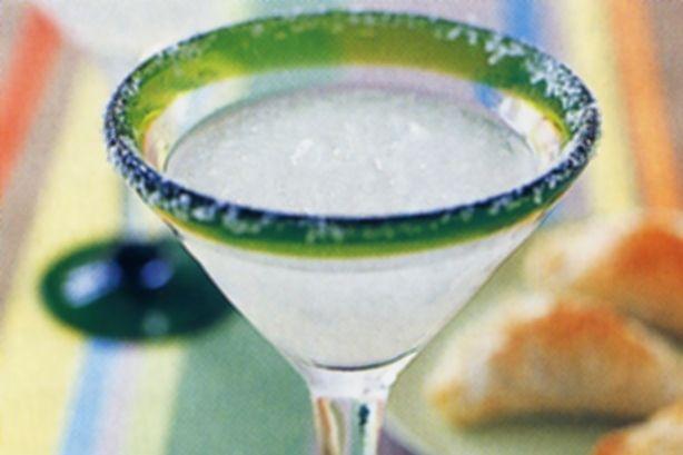 180ml tequila 90ml Cointreau 90ml freshly squeezed lemon juice 4 cups ice sea salt, to serve