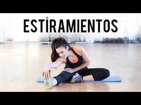 Estiramientos de todo el cuerpo para después del entrenamiento - YouTube