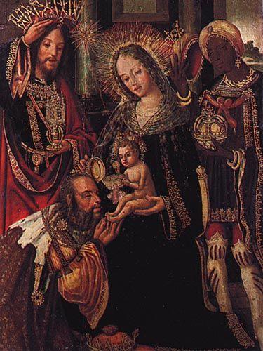 Adoration of the Magi (Adoracao dos magos) | Vicente Gil, post-12th Century