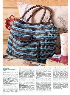 Crochet En Acción: bolsos/carteras