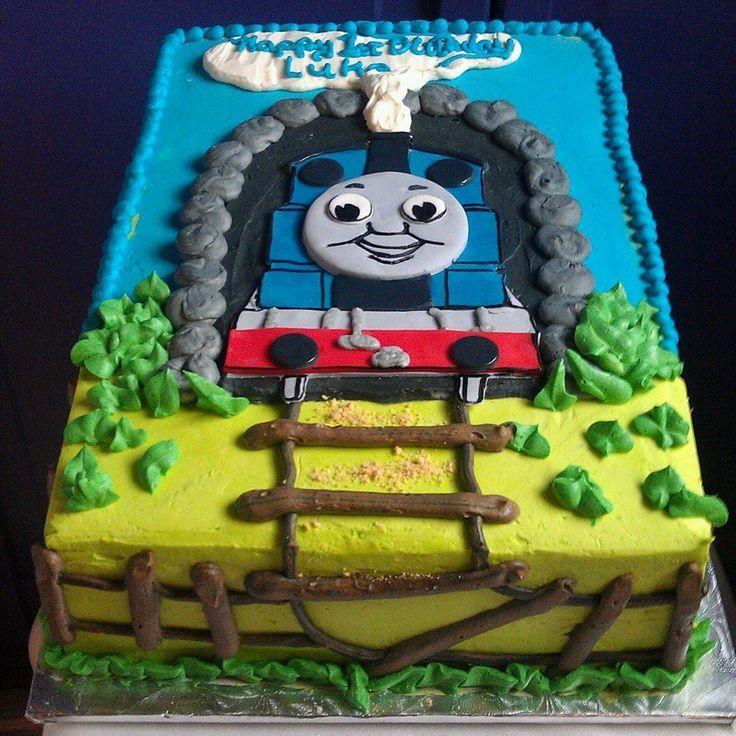 Thomas the train cake recipes