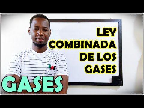 Ley combinada de los gases