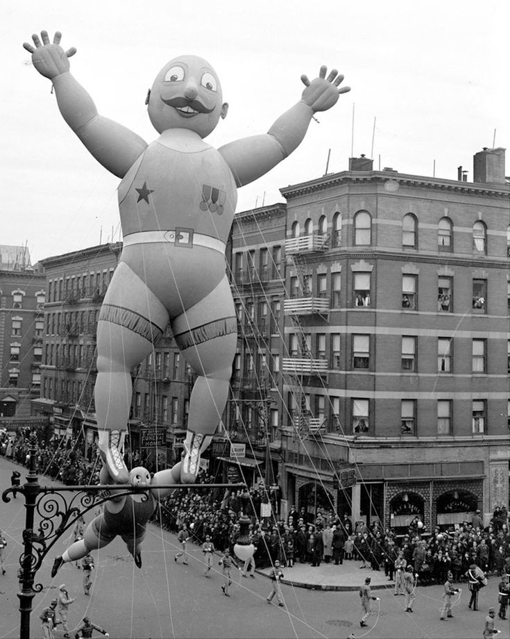 How Were Children Not Terrified Of This Parade Back In The Day Macys Thanksgiving ParadeVintage