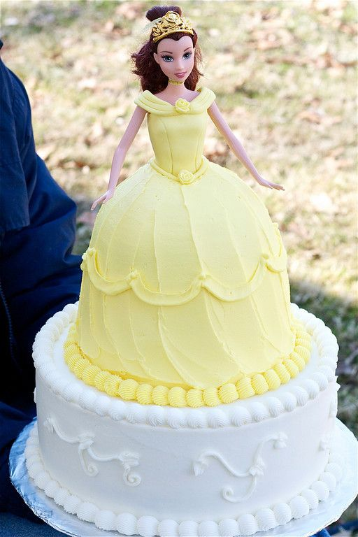 beauty and the beast birthday cake.