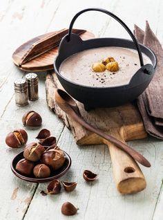 Maroni-Rezepte: Cremig deftige Maronisuppe