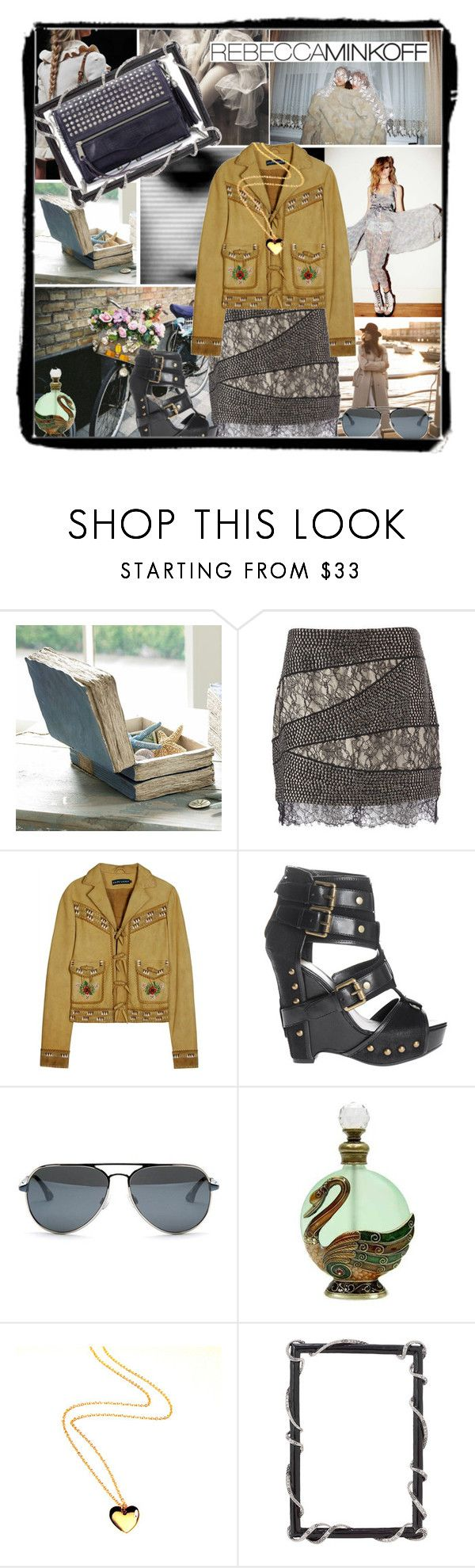 """""""Rebecca Minkoff Urban Gypsy"""" by jill-is-m ❤ liked on Polyvore featuring Haute Hippie, Ralph Lauren, Ash, Kane and Rebecca Minkoff"""