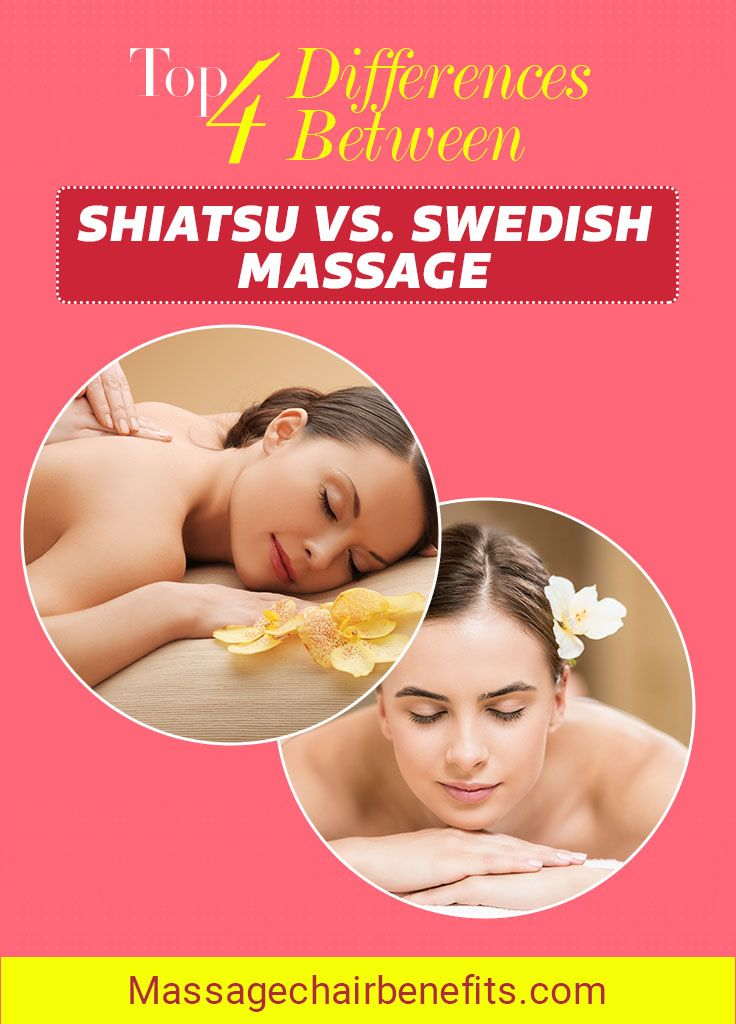 Differences Between Shiatsu vs. Swedish Massage. Are you still confused over the differences between shiatsu and Swedish massage? Then it is time to say goodbye to your confusion as we tackle the differences between the two forms of massage through this article. #Shiatsu #Swedish #Massage #health