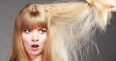 Keine Spülung mehr im Haus? Weichspüler hilft auch bei trockenen Haaren.