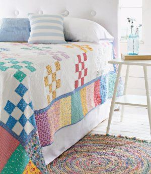 Easy Quilt Patterns For Twin Beds : 17 Best ideas about Bed Quilts on Pinterest Quilt patterns, Easy quilt patterns and Scrap ...