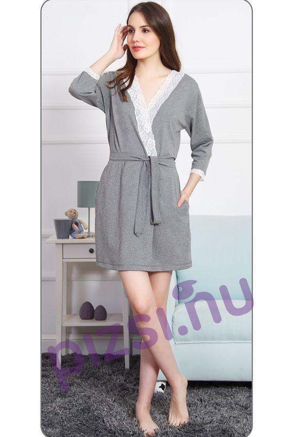 f3f9537243 Női pamut köntös - Női köntös - Pizsama webáruház - Felnőtt és gyermek  pizsamák széles választéka