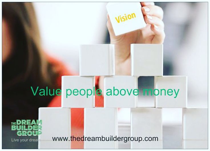 #Value #people above money