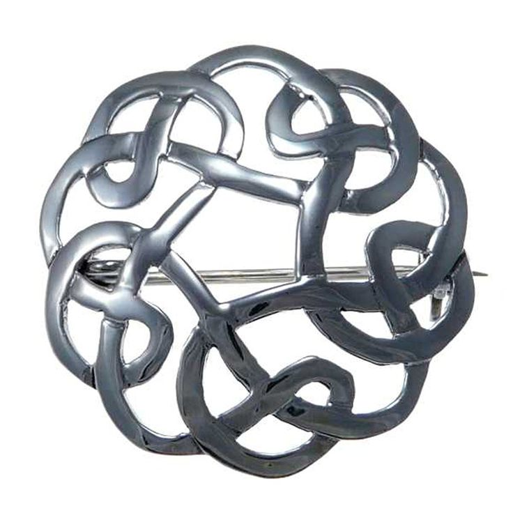 Amazon.com: Sterling Silver Celtic Brooch - Irish/Scottish Pin: Jewelry