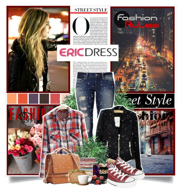 """Ericdress.com"" by likepolyvore13 ❤ liked on Polyvore featuring Cotton Candy, Nearly Natural, Mavi, Converse, Louis Vuitton, Höganäs Ceramic and vintage"