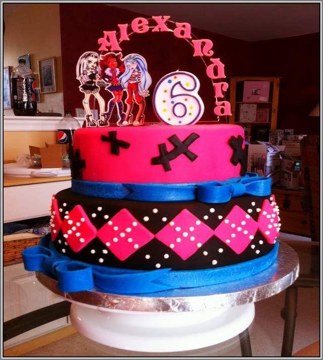 15 best monster high torta images on Pinterest Monster high cakes