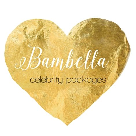 Who's who with a Bambella Designs product ........