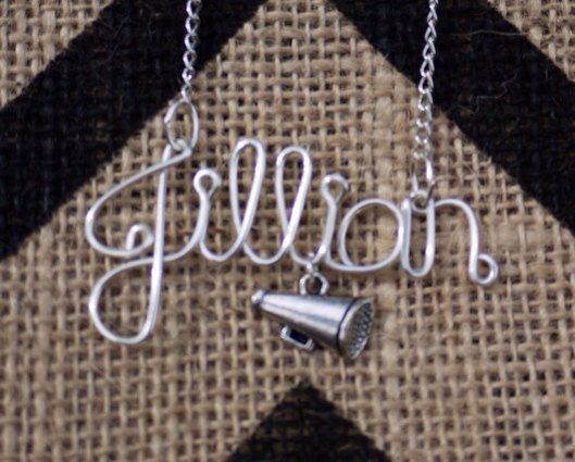 Hey, I found this really awesome Etsy listing at http://www.etsy.com/listing/160157488/cheerleader-cheer-megaphone-name