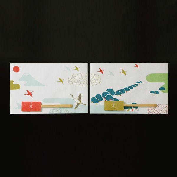 Paper Place Mats And Chopsticks Set