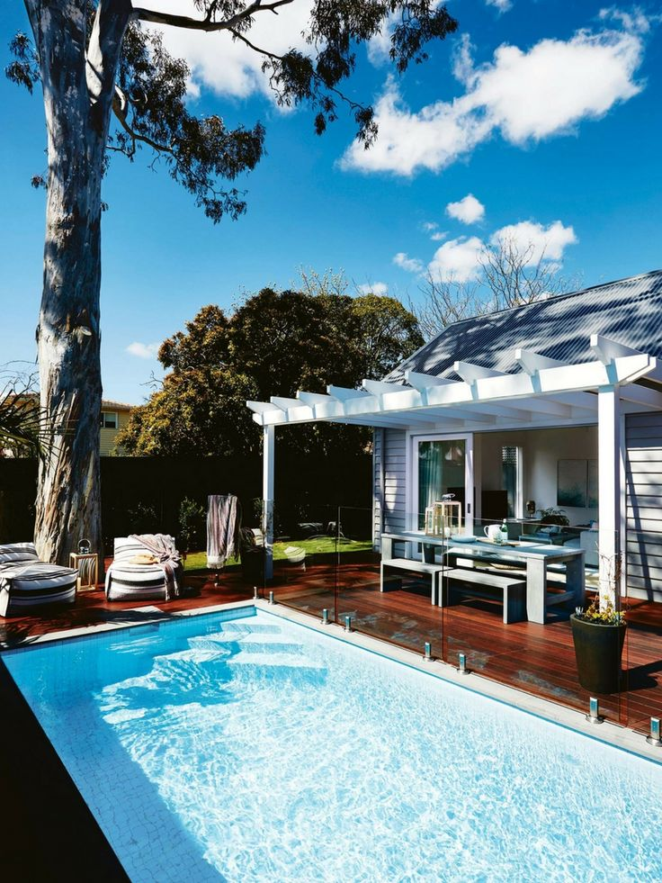 Inside Out 'Open for Inspection' - Home of Darren & Deanne Jolly - Stunning outdoor retreat ; Photography Armelle Habib, Styling Deanne Jolly