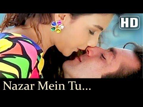 Nazar Mein Tu Jigar Mein Tu - Somy Ali - Sanjay Dutt - Andolan Songs - Sapna Mukherjee - Kumar Sanu - YouTube