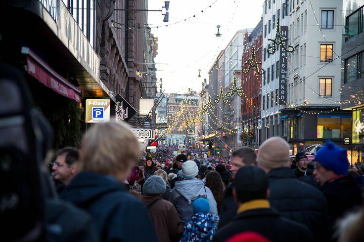 Helsinki, Finland. Opening of Aleksanterinkatu Christmas Street 2013. Photos by artofpics.com #Christmas #Helsinki #Street