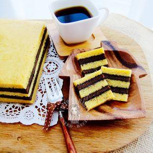 steam horlicks milo kaya layer cake ~ highly recommended 蒸美禄好力克咖椰千层蛋糕 ~ 强推