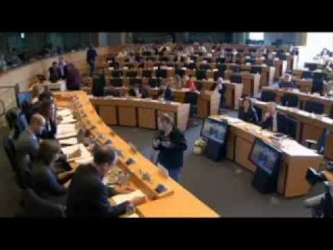 GAP Client & NSA whistleblower Thomas Drake Testifies before EU Parliament Committee - YouTube