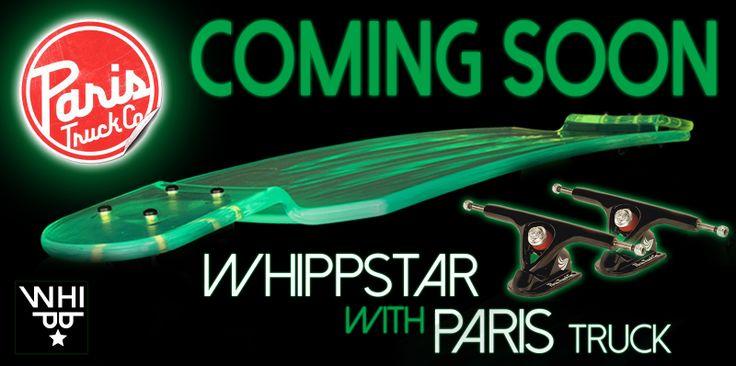 whippstar longboard paris truck