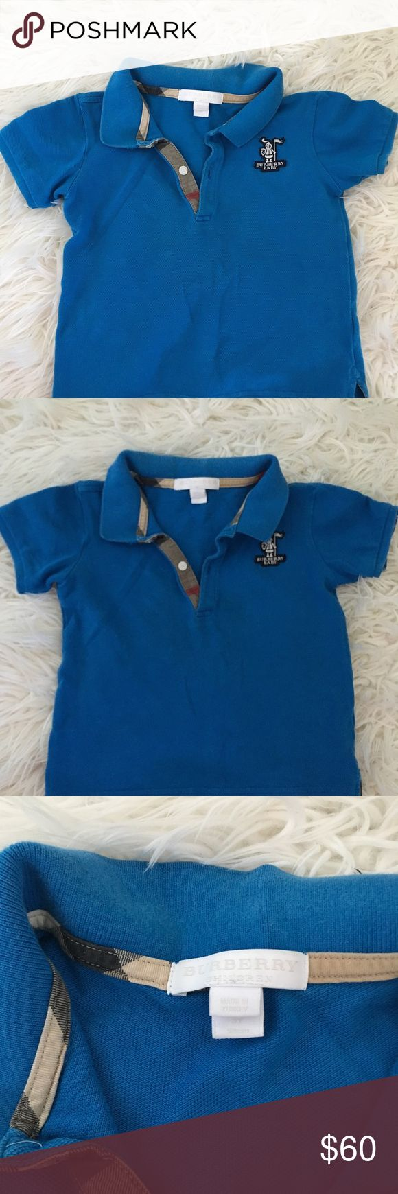 Burberry baby polo Great condition. Worn a handful of times. Size 3Y Burberry Shirts & Tops Polos