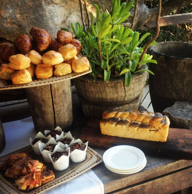 Singita Blog: Sweet Tooth: Buttermilk Scones. The talented team of pastry chefs at Singita Boulders Lodge in the Sabi Sand private reserve have quite a job producing a banquet of tasty treats for our guests in the relative isolation of the African bush.