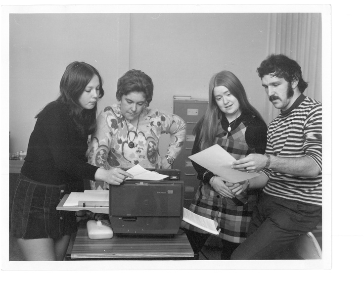 Student Representative Council. 1971-72. © George Crawford.