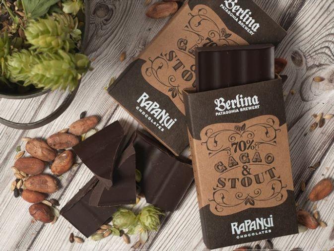 Bariloche - Una alianza infalible: Rapa Nui presentó un chocolate con cerveza Berlina