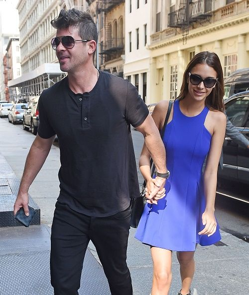 Robin Thicke, April Love Geary Dating And Happy: Paula Patton Hates That He Introduced Her To Their Son Julian!