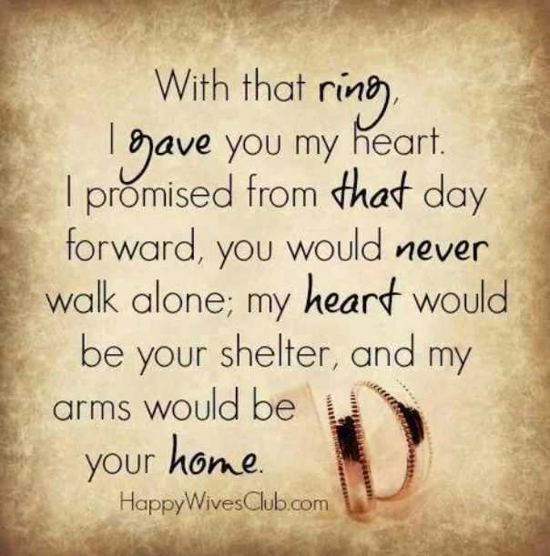 Love it. Dearest boyfriend, say this when either giving me a promise ring our during our wedding vows :)
